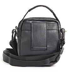 Сумка-кошелёк вертикальный чёрный YADAN 13х16х5  экокожа  кс1090, фото 3