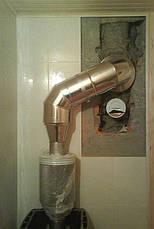 Корзина для камней в бане на трубу ф120 из нержавеющей стали 1 мм AISI 304, фото 3