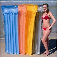 Пляжный надувной матрас 183х76 см
