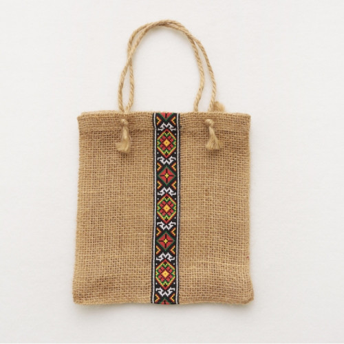 46206e0fe86f Подарочная упаковка-сумка эко с орнаментом, цена 38 грн., купить в Киеве —  Prom.ua (ID#701202971)