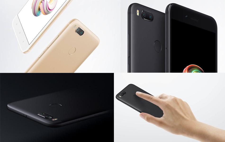"Глобальная версия Xiaomi Mi A1 4/32Gb / black / 5.5"" Snapdragon 625 / 12Мп OV12A10 / 3080 mah"