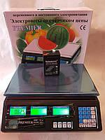 Весы торговые электронные 50 кг Premier (Премьер) вага