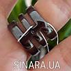 """Серебряное кольцо 3 дорожки с черным родием и камнями """"Багет"""" - Кольцо серебро 925, фото 3"""