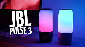 Портативная bluetooth колонка спикер JBL Pulse 3 c светодиодной подсветкой
