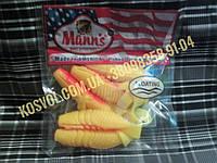 Rumba Плавающий твистер от Mann's (красный с жёлтым), фото 1