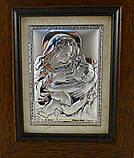 Икона Кормящая в деревянной рамке, фото 2
