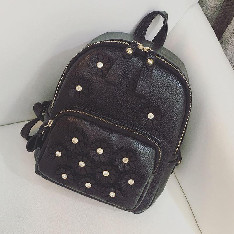 Рюкзак черного цвета прогулочный