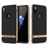 Чехол Rock Royce Series для iPhone X - Gold, фото 1