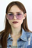 Солнцезащитные женские очки цветные фиолетовые 11111