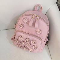 Рюкзак женский розовый, фото 1