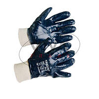 Перчатки Trident DQ 6017 - полный облив нитрилом, мягкий манжет