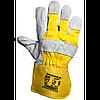 Комбинированные спилковые перчатки Trident Digger