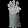 Перчатки спилковые Trident Carbon