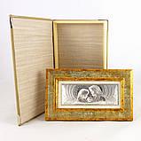 Образ Святое семейство в деревянно рамкей в шкатулке, фото 2
