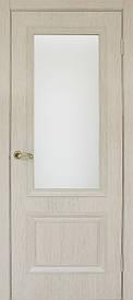 Дверное полотно МДФ Флоренция 1.1 стекло экошпон