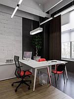 Текстильное оформление офисного помещения АШАН 2