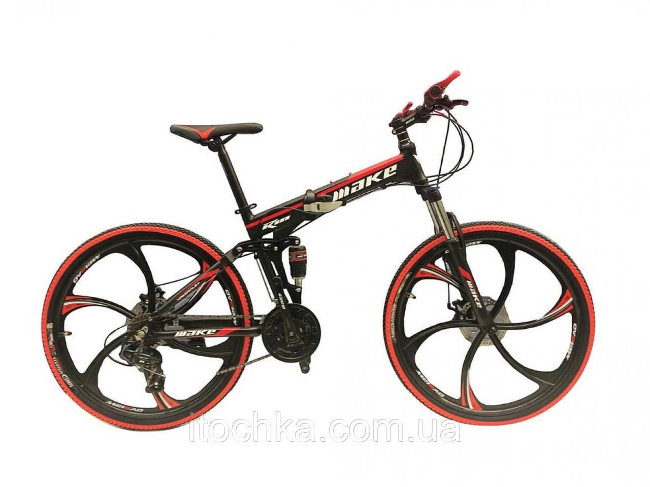 """Велосипед со складной рамой 26"""""""