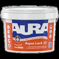 Лак для стен AURA Aqua Lack 20, полуматовый, 10л