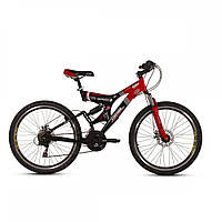 """Велосипед горный (MTB), кросс-кантри Ardis Infinity AMT 26"""" / рама 19"""" черный/серый"""