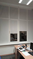 Текстильное оформление офисного помещения АШАН 7