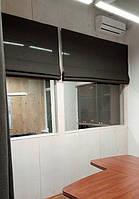 Текстильное оформление офисного помещения АШАН 8