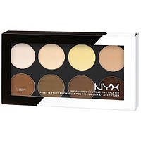 Палетка корректоров NYX Professional Makeup Highlight & Contour Pro Palette