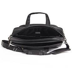 """Сумка для ноутбука BAOHUA 4 отделения горизонтальная  41х30х16 чёрная, ткань Карбон """"Plain""""  кс3932, фото 3"""
