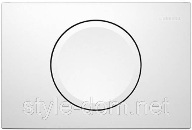 Кнопка для инсталляции Geberit Delta 11 115.120.11.1 белая, фото 2
