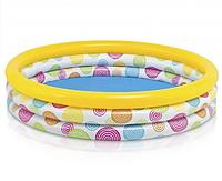 Бассейн надувной для детей (58439) 147*33см, Детской бассейн, Бассейн летний, Бассейн на дачу, на улицу