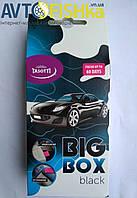 Автомобільний ароматизатор під СИДІННЯ TASOTTI big box (Блек)