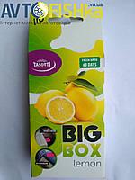 Автомобільний ароматизатор під СИДІННЯ TASOTTI big box (Лимон)