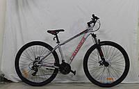 Велосипед найнер 29 колеса Thomas 17 рама СЕРЫЙ  Crosser