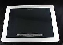 Сенсорный экран Apple iPad 3, Apple iPad 4, белый,с кнопкой Home, проклееный