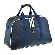 Дорожная сумка средняя BagHouse 47х30х19 синяя нейлон 420Д пр2-1синбк