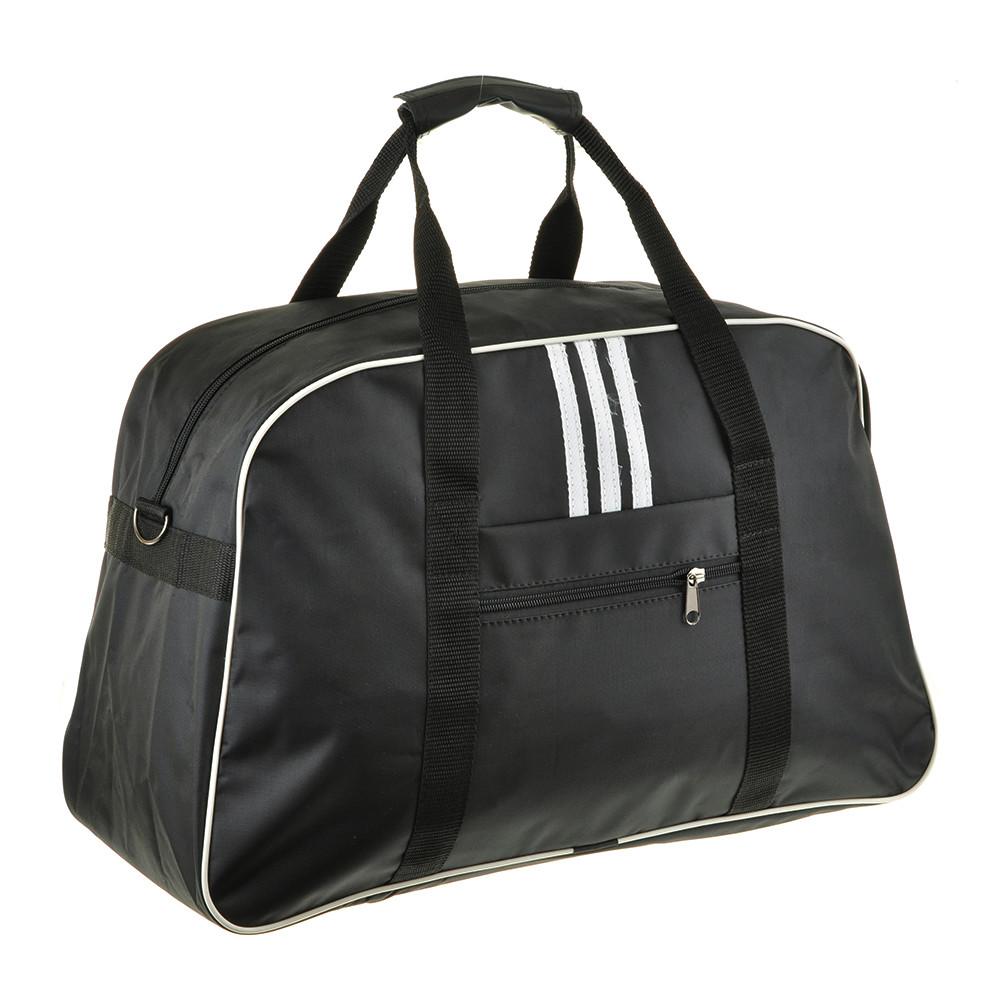 Дорожная сумка BagHouse чёрная средняя 47х30х19 нейлон 420Д пр2-1чбк