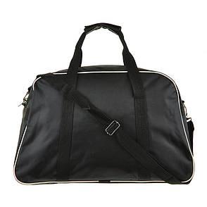 Дорожная сумка BagHouse чёрная средняя 47х30х19 нейлон 420Д пр2-1чбк, фото 2