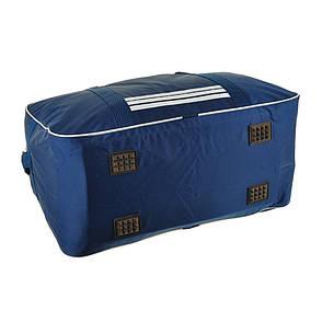 Дорожная сумка BagHouse средняя 49х30х24 нейлон 420Д цвет синий пр2-9Асинбк, фото 2