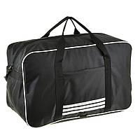 Дорожная сумка BagHouse 49х30х24 чёрная нейлон 420Д, размер средний пр2-9Ачбк