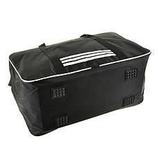 Дорожная сумка BagHouse 49х30х24 чёрная нейлон 420Д, размер средний пр2-9Ачбк, фото 2