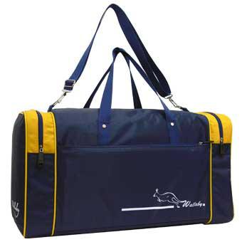 Дорожная сумка малая Wallaby 6+42+6х28х30 нейлон 420Д синяя  в 340син ж