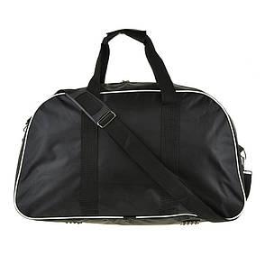 Дорожная сумка нейлон BagHouse большая 56х32х24 чёрная пр8810ч, фото 2