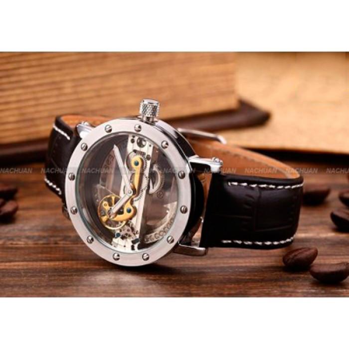 Женские часы Forsining Air Silver II