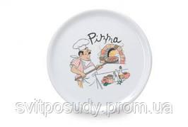 Тарелка для пиццы 320 мм (декор 0055) 270