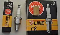 Свечи зажигания NGK-2 V-Line BPR6E Ваз 2108 4 шт