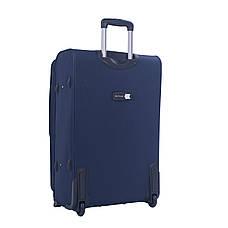 Чемодан большой MY TRAVEL синий с расширением  ксА-190-28син, фото 2