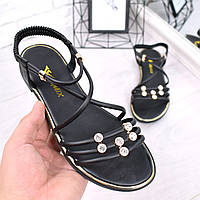 Босоножки женские Sheril черные 4789, сандалии женские, фото 1