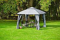 Тканевый павильон (шатер) со стенками  3x3см (стальной каркас + влагоотталкивающий)