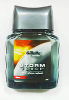 Gillette Series Storm Force Spicy лосьон после бритья 50 ml (без упаковки, с набора) ОРИГИНАЛ
