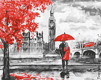 Картина по номерам Алые краски Лондона