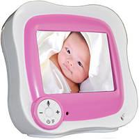 """Видеоняня BESNT W233 Baby Monitor с дистанционным монитором LCD 3,5"""""""" Бело-Розовый (SUN0522)"""